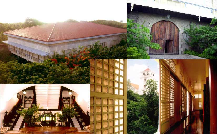 Images from the Museo de la Salle on the campus of De La Salle University, Dasmariñas, Cavite, Philippines. The bottom left image of the zaguan, or entryway, is from the Cavite Expressway website. The others are from the museum itself.