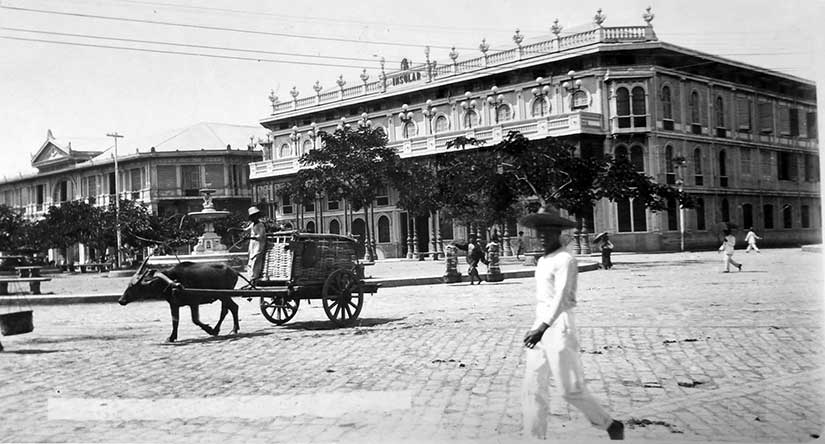 Hotel Oriente Binondo Manila opening novella of Sugar Sun steamy historical romance series by author Jennifer Hallock. Serious history. Serious sex. Happily ever after.
