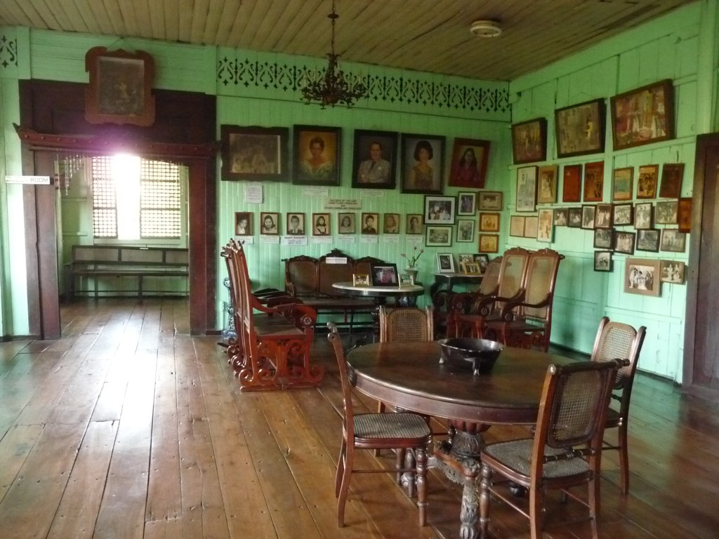 The sala of the Crisologo House and Museum in Vigan, Luzon.