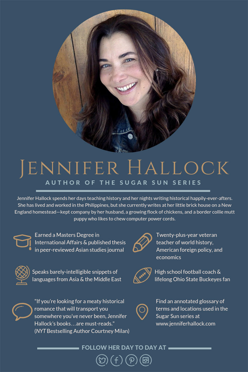 Jennifer Hallock author bio