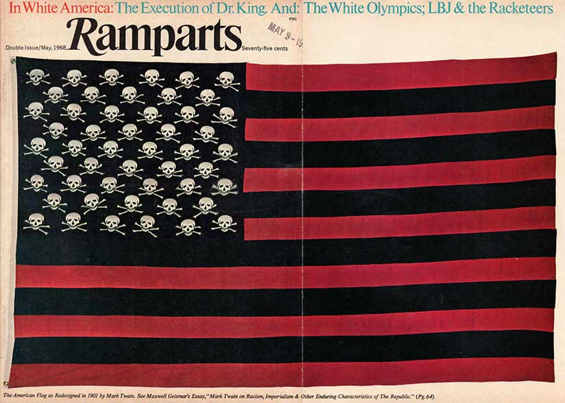 mark_twains_american_flag_1901