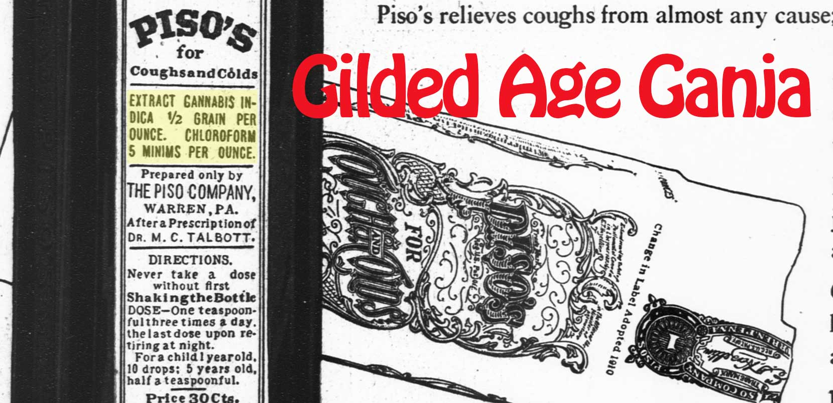 Gilded Age Ganja