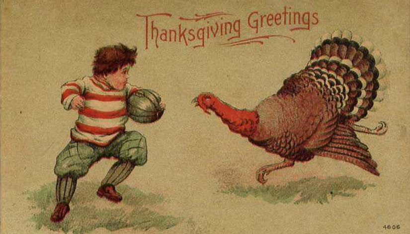 A Little Thanksgiving History