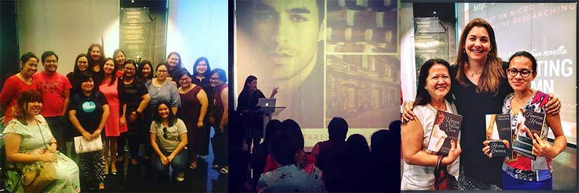 History Ever After talk at the Ayala Museum in Makati Manila Philippines with authors discussing steamy romance in difficult times