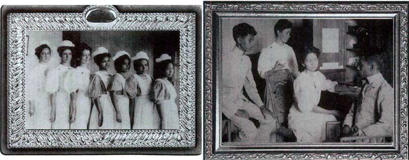 Pictures of Dr. Rebecca Parrish female missionary doctor in Tondo Manila during the American colonial period of Philippines history