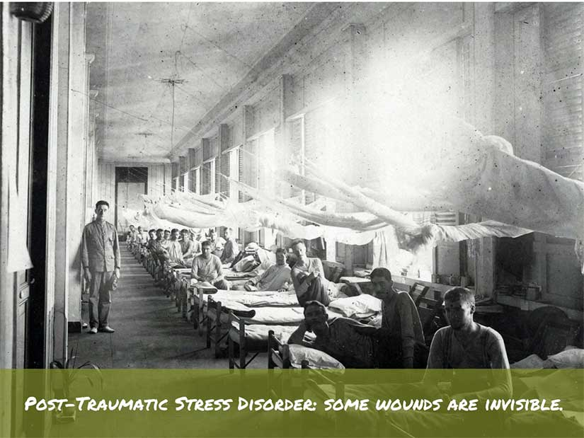PTSD Post Traumatic Stress Disorder suffered by American soldiers during war in Philippines in Gilded Age