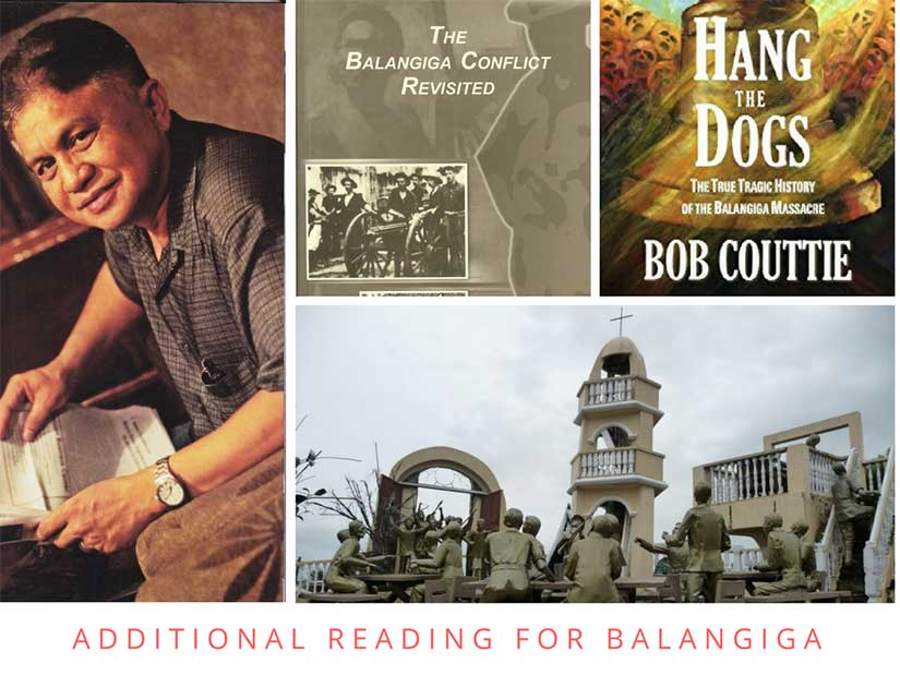 Recommended reading is Borrinaga and Couttie on Balangiga Samar Ninth Infantry attack during war between Philippines and America in Gilded Age