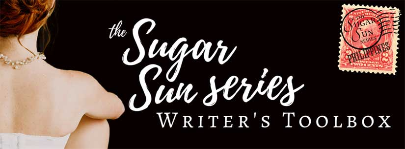 Sugar Sun steamy historical romance series writer toolbox by Jennifer Hallock author