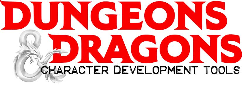 Dungeons&Dragons character development tools banner