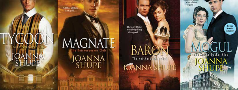 Knickerbocker Club books by award-winning author Joanna Shupe