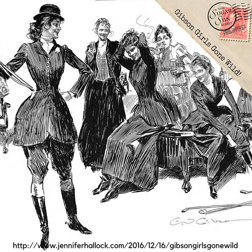 Gibson girls tackle international travel