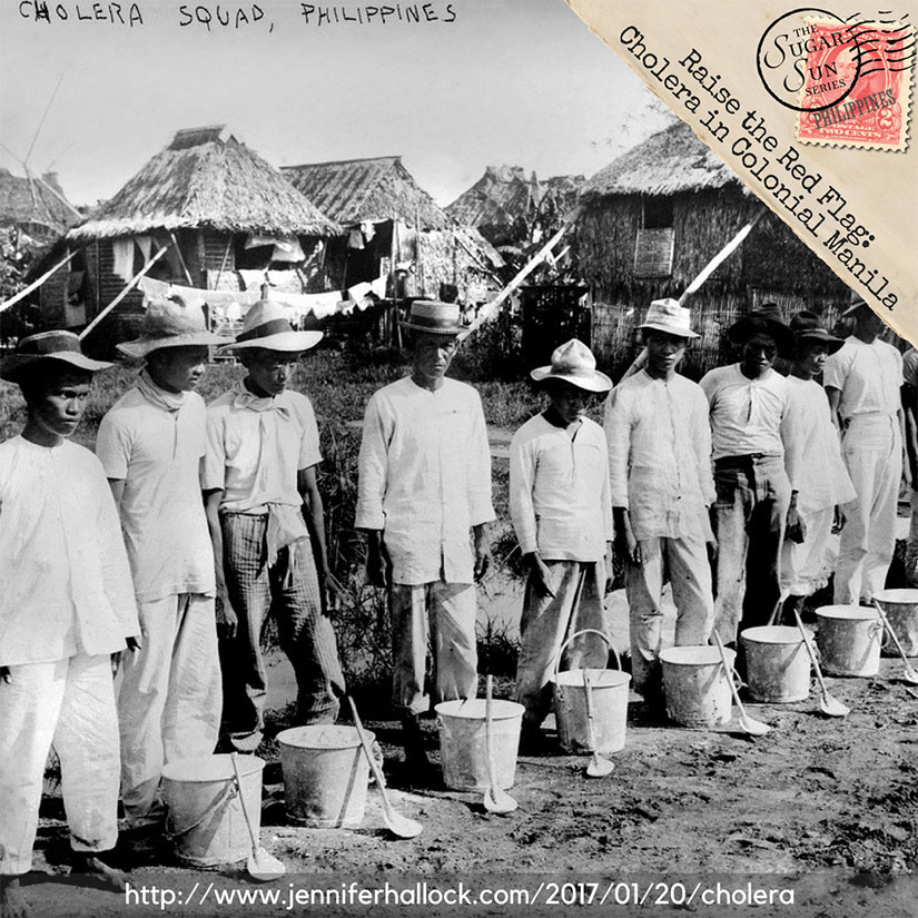 Cholera epidemic in 1902 Philippines