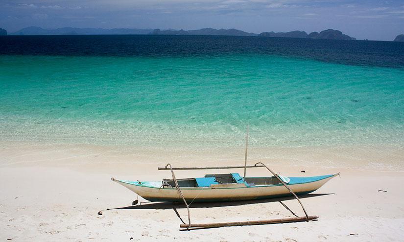 Philippine boat for Sugar Sun glossary series