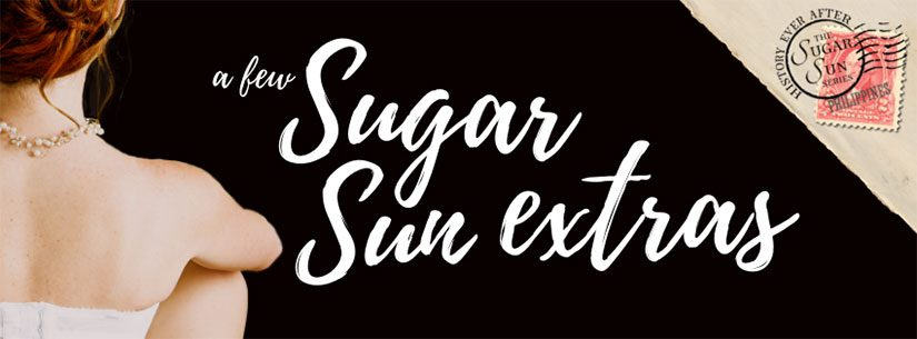 Sugar Sun extras: The books of Hacienda Altarejos
