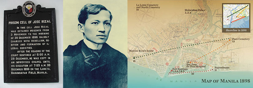 Collection of last days of Rizal images