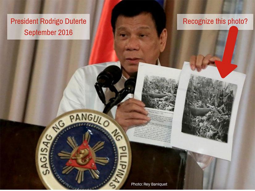 Duterte and Bud Dajo