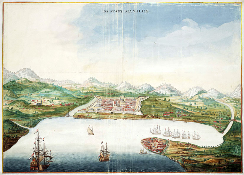 1665 view of Maynila from the bay