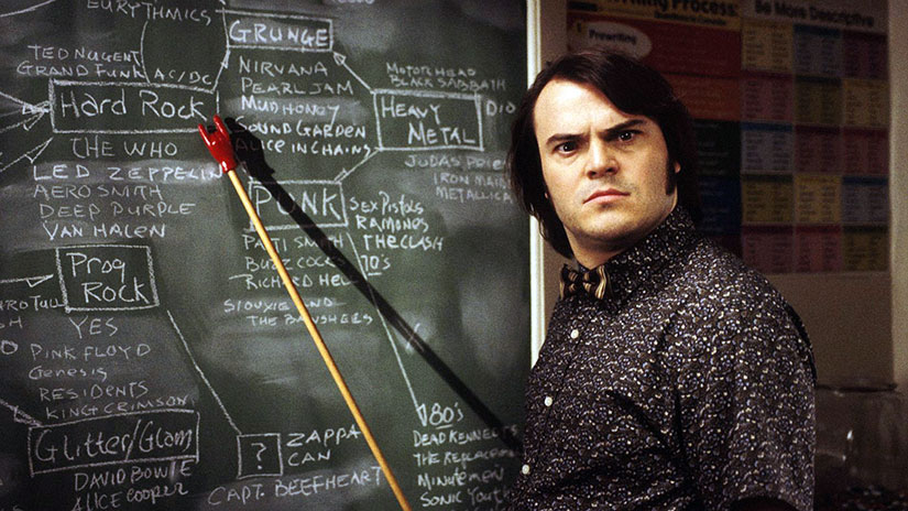 School of Rock for teaching advice by Jennifer Hallock