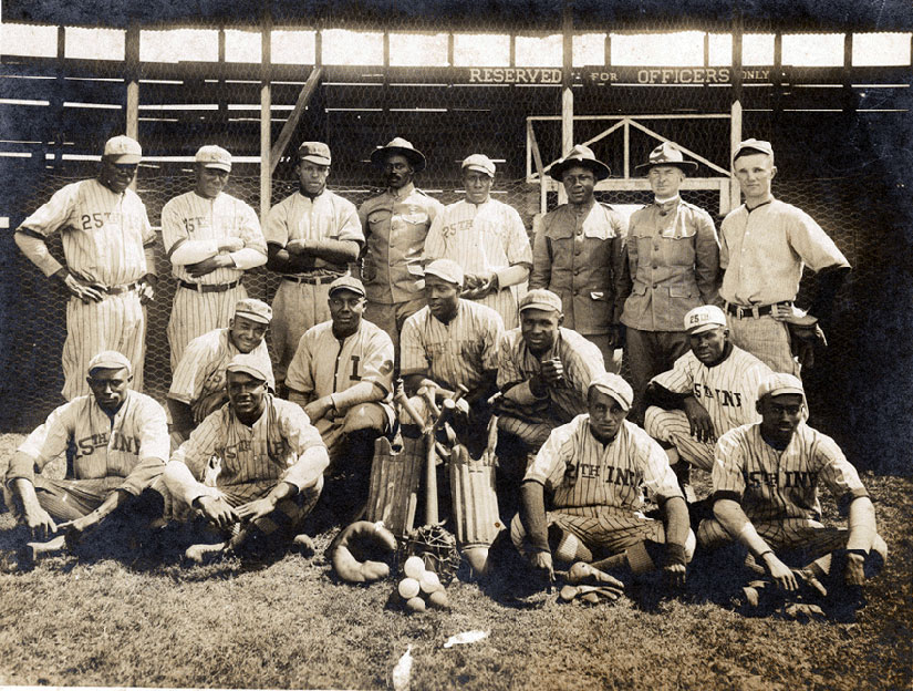 25th Infantry baseball team in 1916
