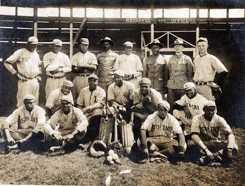 25th Infantry baseball team in 1916