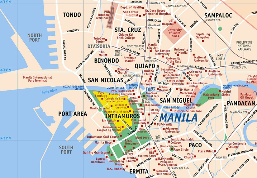 Manila port expansion map for Jennifer Hallock author of Sugar Sun steamy historical romance series. Serious history. Serious sex. Happily ever after.