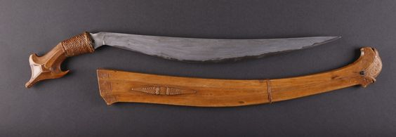 Pulahan sword for Jennifer Hallock Sugar Moon