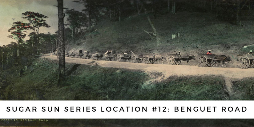Benguet Road location for Jennifer Hallock Sugar Moon