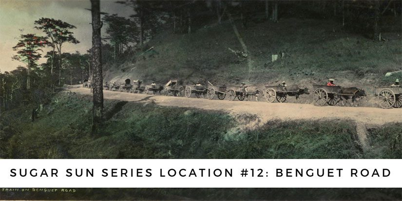 Sugar Sun series location #12: Benguet Road