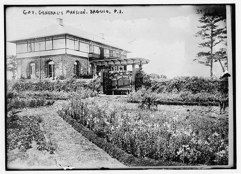 Governor Mansion Baguio for Jennifer Hallock Sugar Sun series