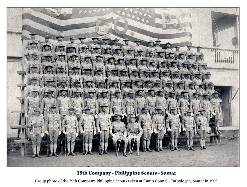 Philippine Scouts Scott Slaten by Jennifer Hallock Sugar Moon