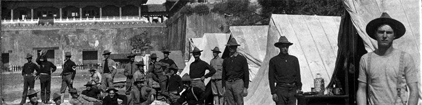 Negligées in the Morning: Army Life in 1901