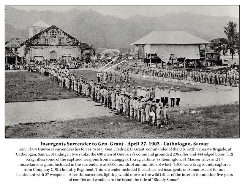 Surrender-Lukban-Catbalogan-Samar-1902