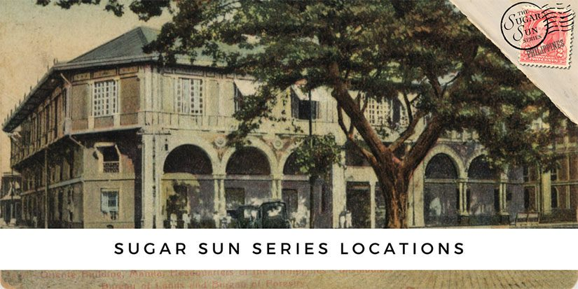 The Sugar Sun series locations