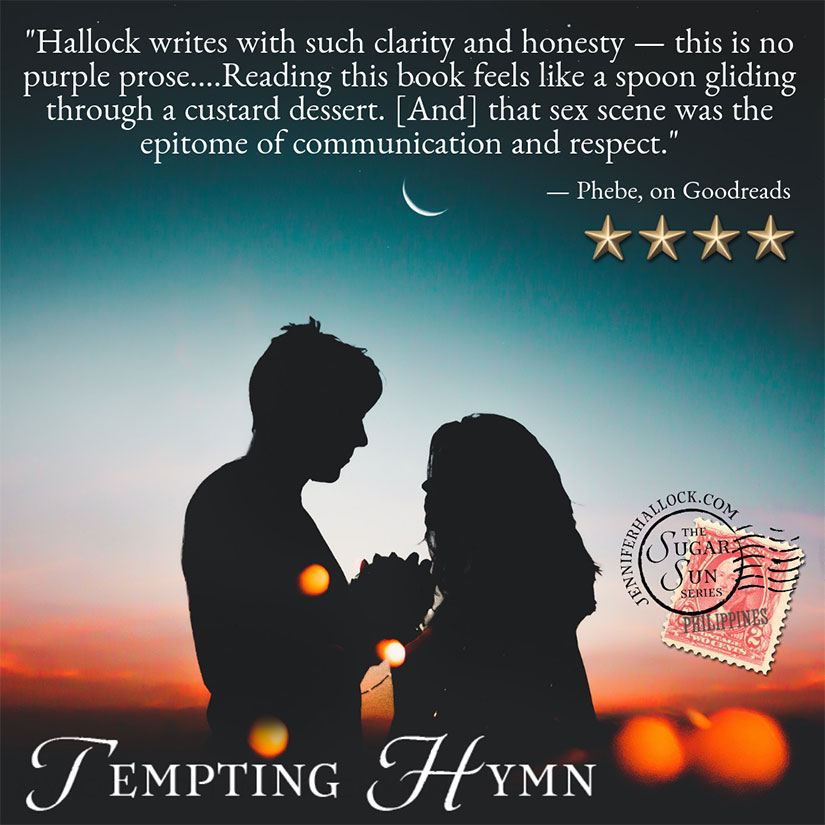 Phebe Goodreads on Tempting Hymn by Jennifer Hallock