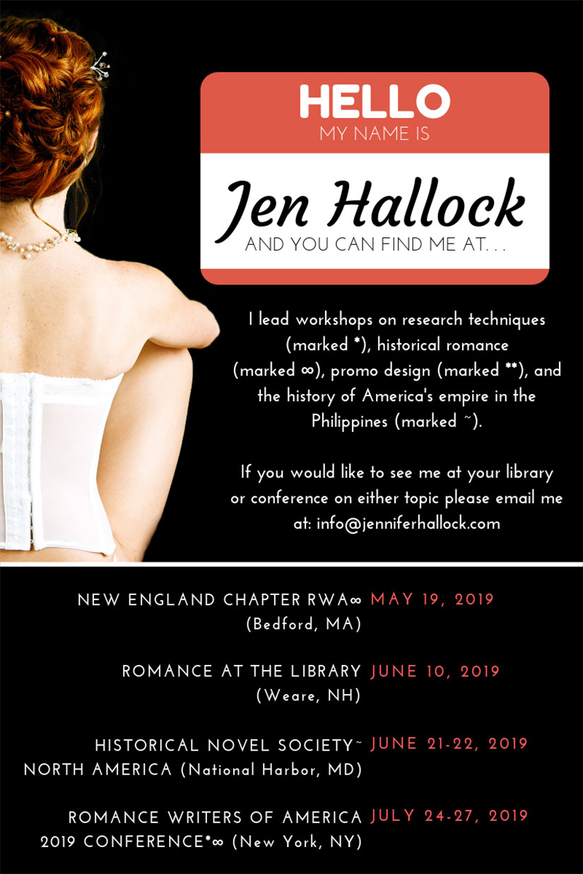 Jennifer-Hallock-Summer-2019-appearance-list
