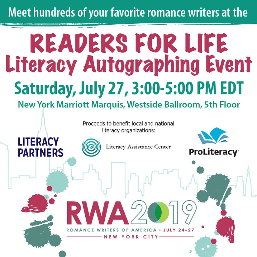 #RWA19-literacy-signing-romance-writers-new-york