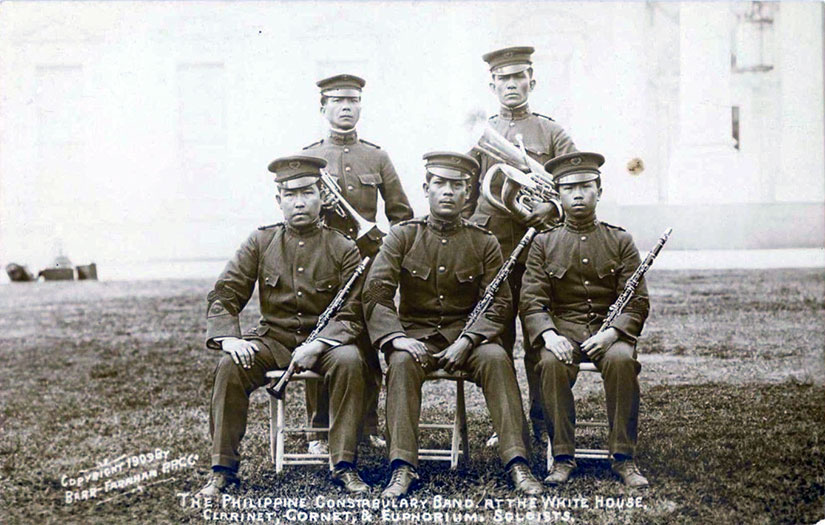 philippine-constabulary-band-soloists-1909-white-house