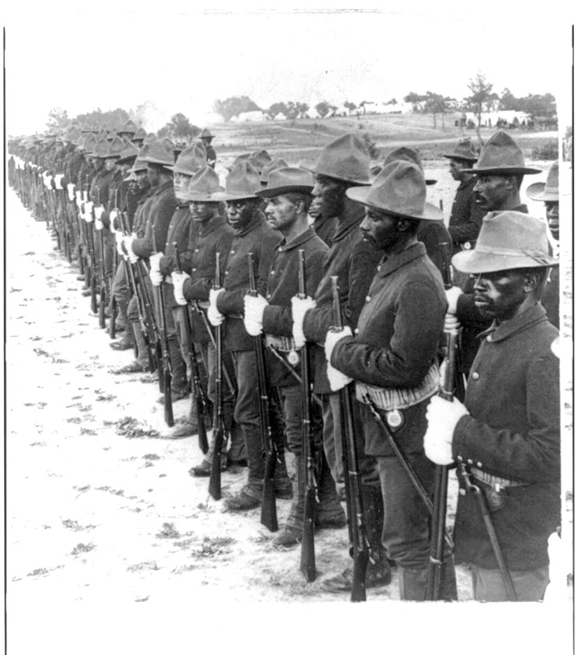 African-American soldiers Spanish-American War