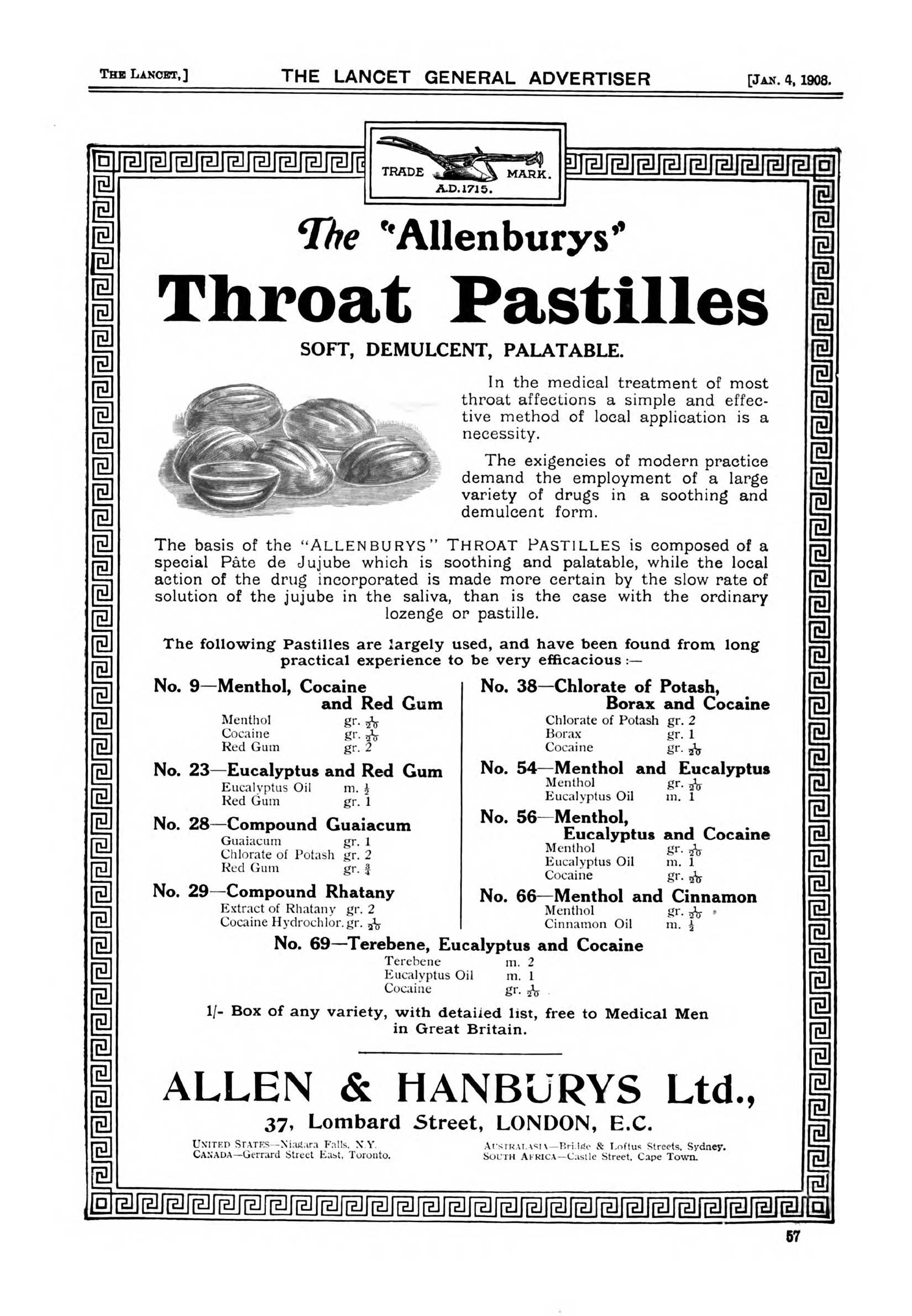 Allenburys-Cocaine-Throat-Pastilles